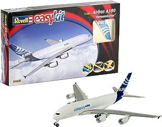 Revell Maqueta EasyKit Airbus A380 Demonstrator, Escala 1:288 (6640)(06640), Azul, Color Blanco