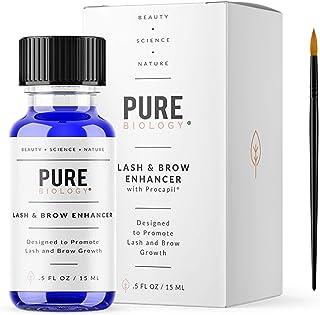 5bf8928b506 Premium Eyelash Growth Serum & Eyebrow Enhancer – Castor Oil, Biotin, Green  Tea Extract