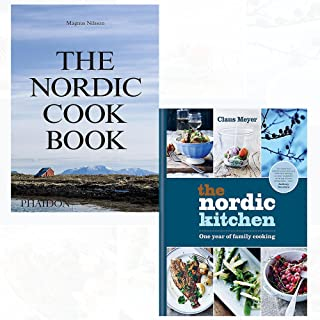 Nordic cookbook and kitchen 2 books collection set