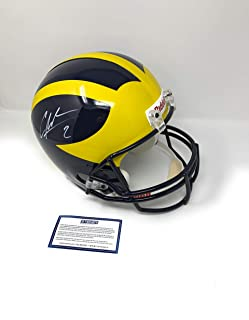 Charles Woodson Michigan Wolverines Signed Autograph Full Size Helmet Riddell Steiner Sports Certified