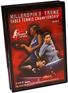 Killerspin Extreme Table Tennis Championships 2003 Volume 2 DVD