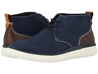 Johnston & Murphy Farley Chukka (Navy Oiled Nubuck) Men