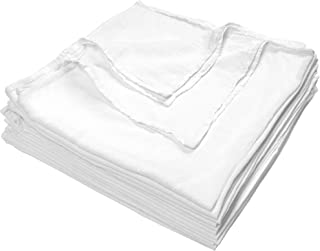 Nouvelle Legende Cotton Fast Dry Flour Sack Towels Commercial Grade 28 X 29 Inches (12 Pack)