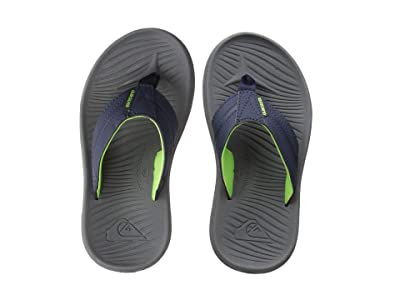 Quiksilver Kids Oasis (Toddler/Little Kid/Big Kid) (Blue/Grey/Blue) Boys Shoes
