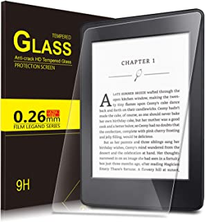 Amazon Kindle Paperwhite 10. Generation 2018 Screen Protector Glass, IVSO Premium 9H Hardness HD Tempered-Glass Film Screen Protector for Amazon Kindle Paperwhite 10. Generation 2018 Tablet, 1 Pack