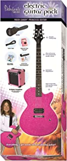 Best Daisy Rock Debutante Rock Candy Princess Atomic Pink Electric Guitar Pack Review