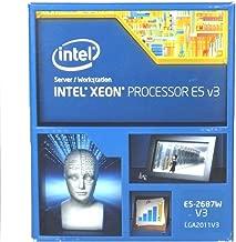 Intel Xeon E5-2687W v3 Ten-Core Haswell Processor 3.1GHz 9.6GT/s 25MB LGA 2011-v3 CPU w/o Fan; Retail