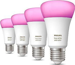 Philips Hue Uitbreidingspakket - White and Color Ambiance - E27-4 lampen