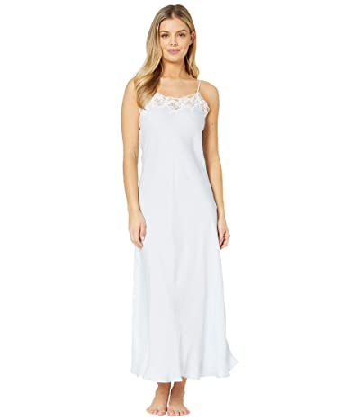 Eileen West Satin Ballet Nightgown (Blue) Women