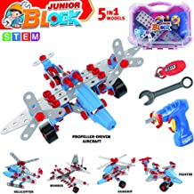 Gili Building Toys Gifts for Boys & Girls Age 6-12yr, Construction Engineering Take Apart Airplane Model for 7, 8, 9, 10, 11 Year Old Kids Birthday Christmas, Educational STEM Learning Kits
