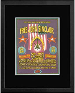 Bob Seger Mitch Ryder Rationals - Grande & Eastowne Ballroomm Detroit 1970 Framed Mini Poster - 20x18cm