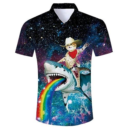 Men Casual O Neck Short Sleeve Print Pullover T-shirt Top OK