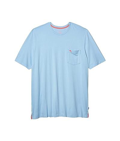 Tommy Bahama Big & Tall Big Tall New Bali Skyline T-Shirt (Light Sky) Men