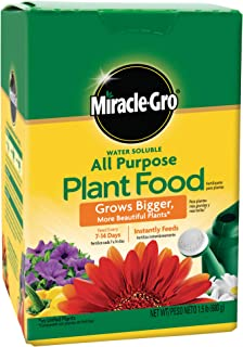Miracle-Gro Water Soluble All Purpose Plant Food, 1.5 lbs