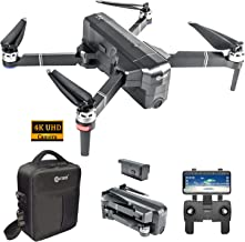 Contixo F24 Pro 4K UHD Foldable RC Quadcopter GPS Drone for Adults - FPV Camera Compatible with VR - 30 Minutes Flight Tim...