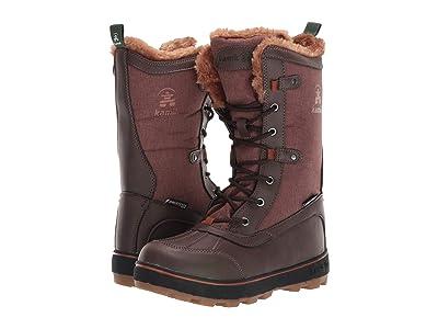 Kamik Kids Cinnamon (Little Kid/Big Kid) (Dark Brown) Kids Shoes