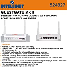 Intellinet GuestGate MKII Wireless HotSpot Gateway (524827)