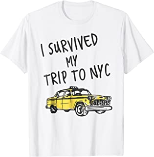 I Survived My Trip to NYC Travel T-shirt