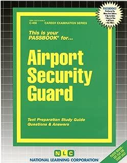 Airport Security Guard(Passbooks)