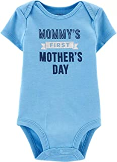 Carter's Baby Boys' First Mother's Day Collectible Bodysuit