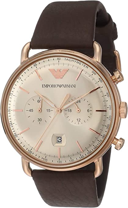 Emporio Armani Mens Dress Watch