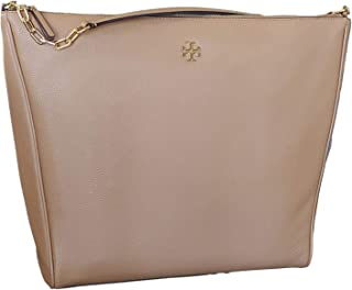 Tory Burch Carter Slouchy Hobo Bag, Large, Cardamom
