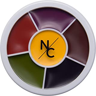 Narrative Cosmetics 6 Color Bruise Wheel for Special Effects Costumes, SFX Bruise & Wound Theatrical Makeup - Halloween & ...