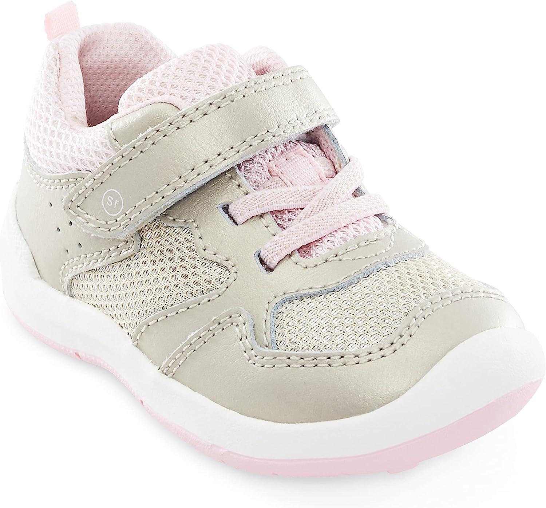Stride Rite Girls SRT Winslow Athletic Sneaker, Champagne, 8 Toddler