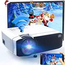 Wireless WiFi Video Projector 2800Lux, Ifmeyasi Mini Movie Projectors, USB Directly Connect with Smartphones, 1080P Supported, 200