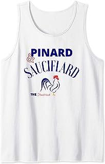 Homme Pinard, sauciflard-Humoristique beauf alcool, apéro-drôle Débardeur