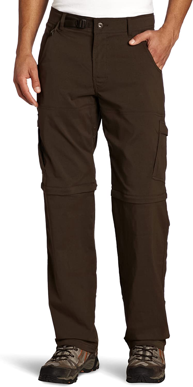 prAna Men's Popular products Recommended Stretch Zion 32-Inch Convertible Pant