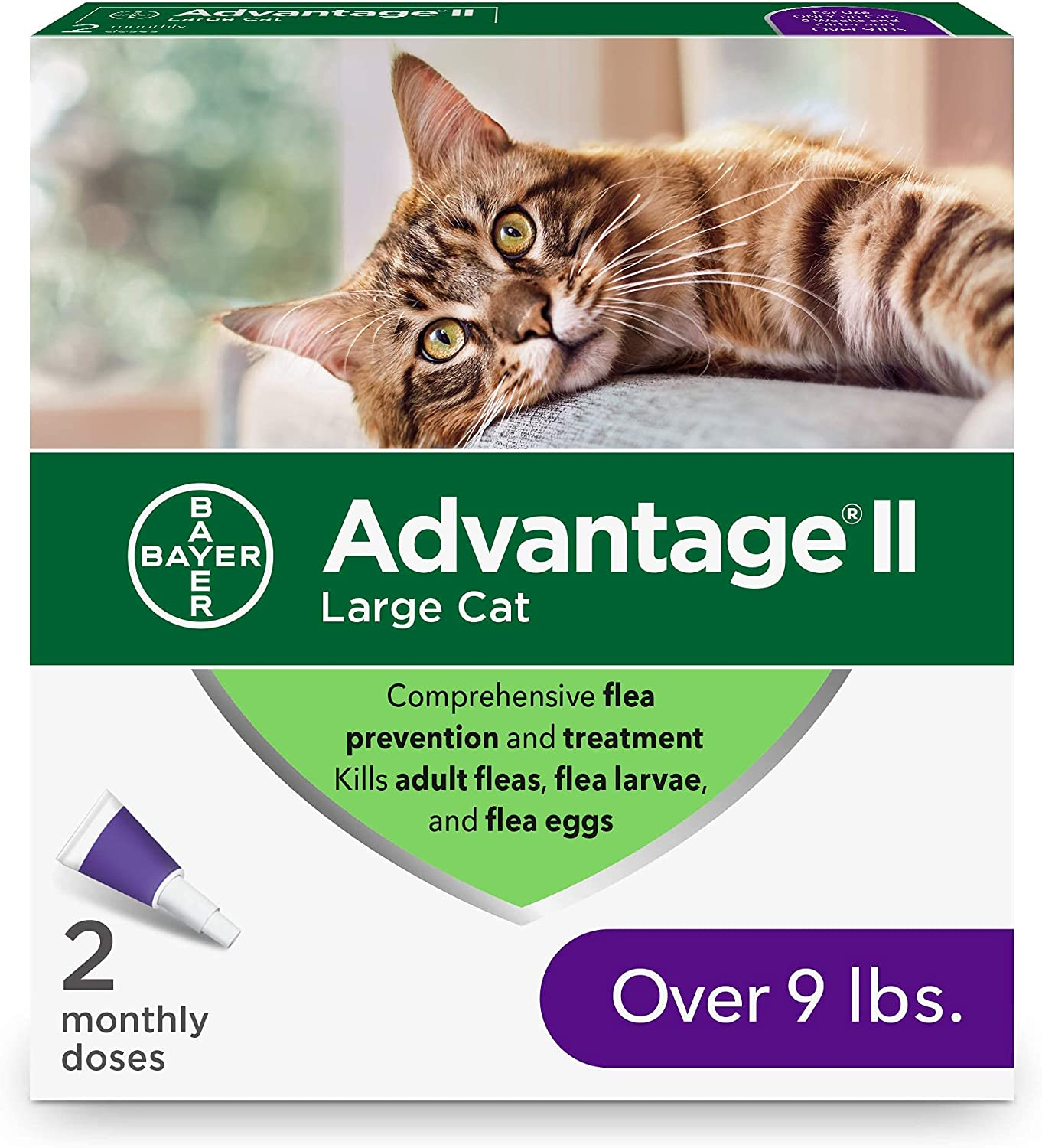 Advantage Japan Maker New Virginia Beach Mall II Flea Prevention and for Large Over Cats Treatment