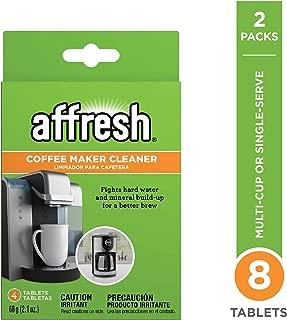 affresh W10511280M2 4ct 2 Pack coffeemaker Cleaner