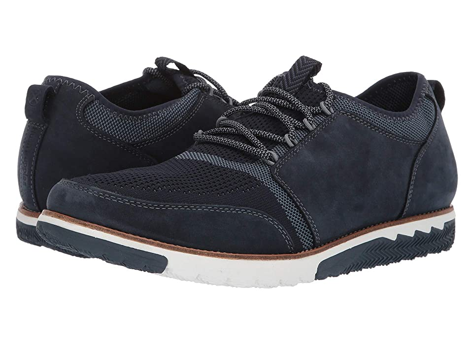 Hush Puppies Expert Knit Lace-Up (Navy/Knit Nubuck) Men