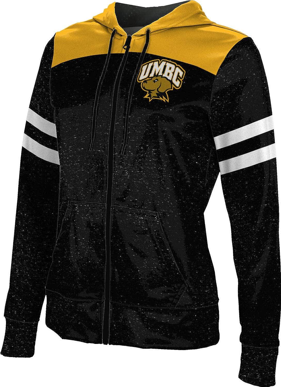 ProSphere University of Maryland Baltimore County Girls' Zipper Hoodie, School Spirit Sweatshirt (Gameday)