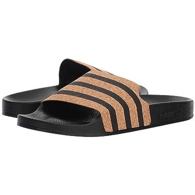adidas Adilette (Core Black/Core Black/Supplier Colour) Women