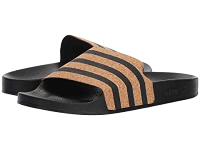 adidas Adilette (Core Black/Core Black/Supplier Colour) Women
