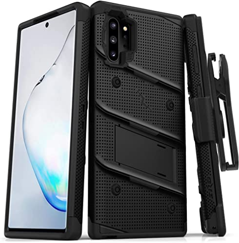 ZIZO Bolt Series for Samsung Galaxy Note 10 Plus Case | Heavy-Duty Military-Grade Drop Protection w/Kickstand Include...