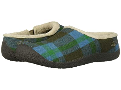 Keen Howser Slide (Blue Plaid/Raven) Women