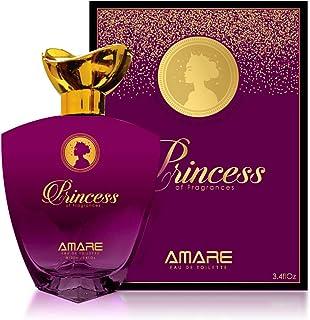 Princess of Fragrances by Amare - perfumes for women - Eau de Toilette, 100 ml