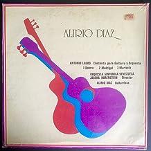 Alirio Diaz / Antonio Lauro Concierto Para Guitarra Y Orquesta