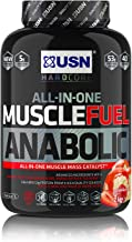 USN Muscle Fuel Anabolic Strawberry 2 kg Performance Boosting Muscle Gain Protein Shake Powder Estimated Price : £ 25,95