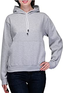 Scott International Women's Cottonblend Hooded Sweatshirt