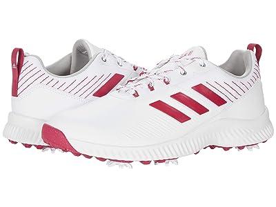 adidas Golf Response Bounce 2 (White/Wild Pink/Scream Pink) Women