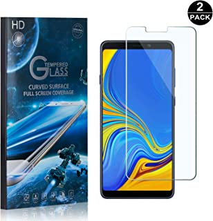 Galaxy A9 2018 Screen Protector Tempered Glass, Bear Village® Perfect Fit & Anti Fingerprint HD Screen Protector Film for Samsung Galaxy A9 2018-2 Pack