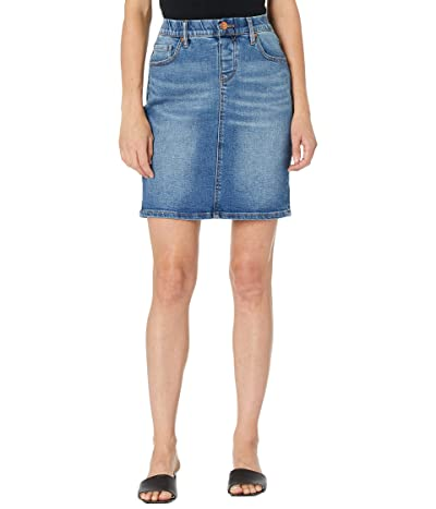 Jag Jeans Valentina Faux Fly Pull-On Skirt