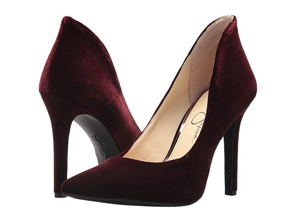 Jessica Simpson Cambredge (Rouge Noir Velvet) Women