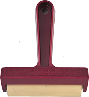 Speedball 041217 #49 Pop-In Soft Rubber Brayer - 4 Inch Soft Rubber Brayer