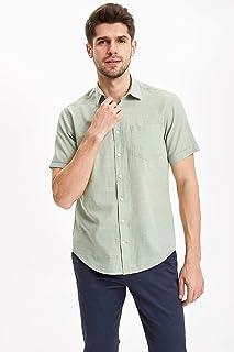DeFacto Modern Fit Kısa Kollu Gömlek