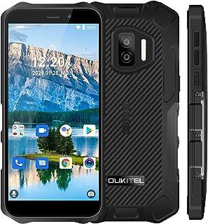OUKITEL WP12 Pro SIMフリー スマホ 本体 4G Android 11 スマートフォン 4GB RAM +64GB ROM(256 GB拡張可能)13MPのIMX155ソニー背面カメラ 5MP AI前側カメラ 5.5インチ 4...